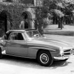 Der 190 SL mit abnehmbaren Hardtop