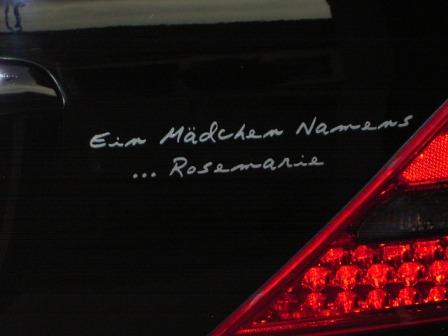 Ein Mädchen Namens Rosemarie
