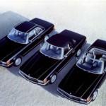 Der R107 als Coupé und Roadster