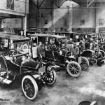 Benz Fertigung um 1900
