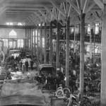 Produktion Daimler Motoren Gesellschaft um 1900