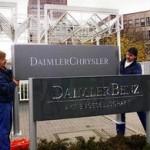 Die DaimlerChrysler AG entsteht 1998