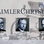 Gottlieb Daimler, Carl Benz und Walter P. Chrysler