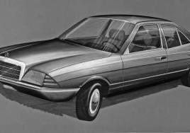 """Erste Entwürfe für einen """"kleinen Mercedes"""""""