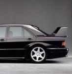 Die erste Sonderserie, die AMG für Mercedes-Benz gebaut hat: Der 190 E 2.5-16 Evolution 1 und hier Evolution 2