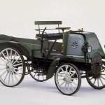 Der erste LKW aus dem Hause Daimler von 1896