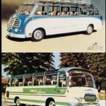 """Mit solchen Bussen ging es auf Reisen im """"Wirtschaftswunderland"""""""
