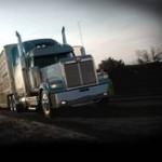 """Auch """"richtige"""" Trucks gibt es bei Daimler - hier ein Westernstar"""