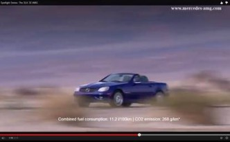 Der SLK 32 AMG im Video