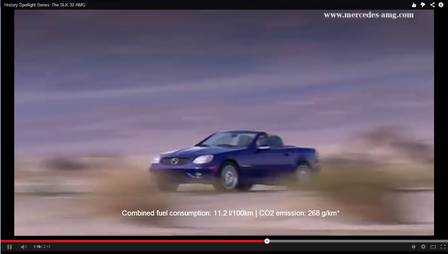 Der SLK 32 AMG im Video