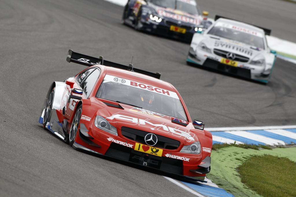 Die Mercedes-AMG Mannschaft fuhr ihr eigenes Rennen - am Ende des Feldes