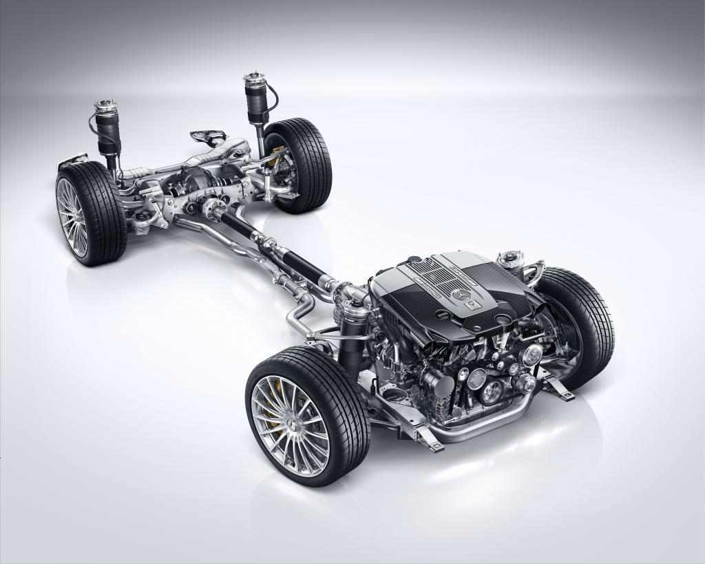 AMG Sportfahrwerk auf Basis MAGIC BODY CONTROL