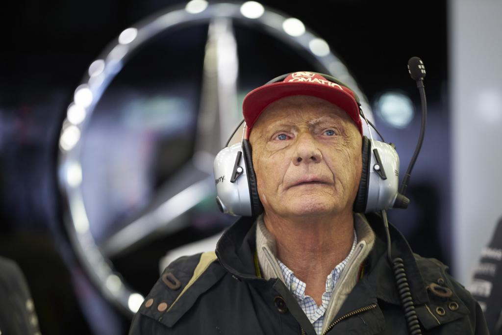 Manche Bilder sprechen ohne Tonspur - Niki Lauda fassungslos