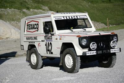 Inzwischen ein Sammlermodell: Rallye-Paris Dakar Fahrzeug