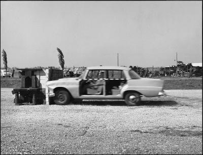 Erster Mercedes-Benz Crashtest am 10. September 1959