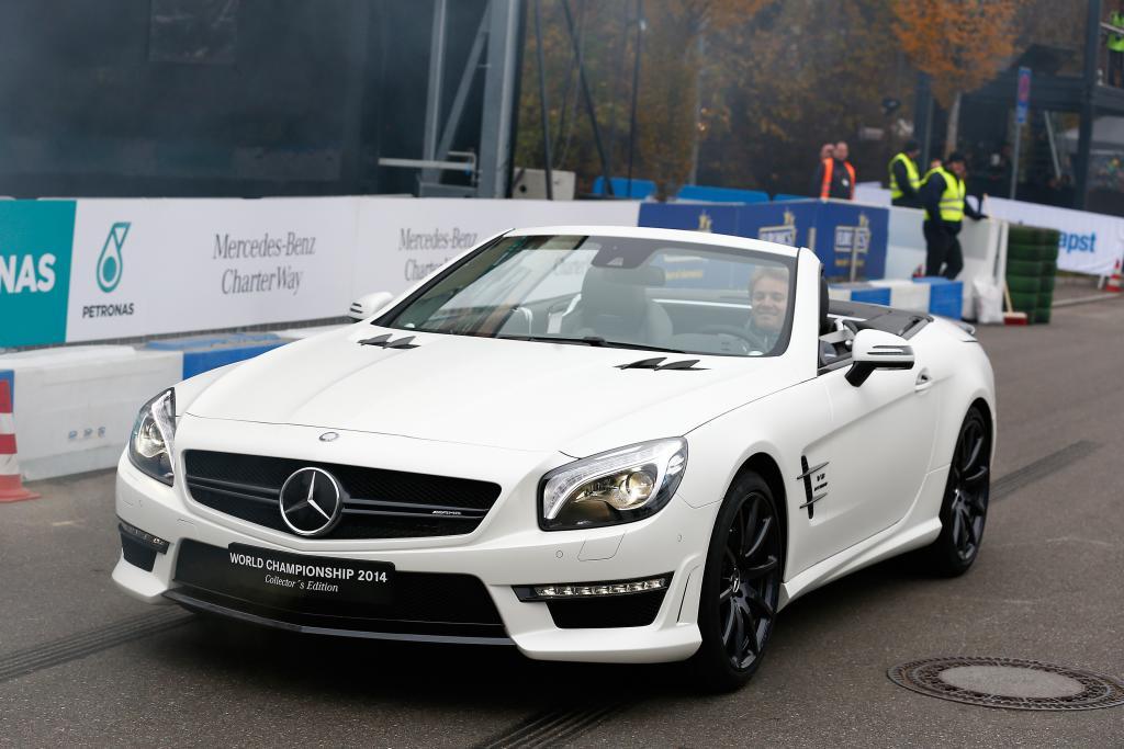 """""""Elegant und stilvoll"""" bewegte Nico Rosberg seinen SL 63 AMG"""