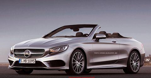 So könnte das S-Klasse Cabriolet aussehen (Bild: www.xtomi.blogspot.hu / MBpassion.de)