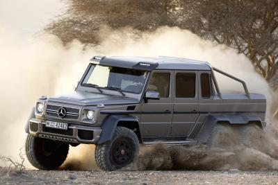 Der  bisher teuerste Mercedes aller Zeiten: Der G 63 AMG 6x6