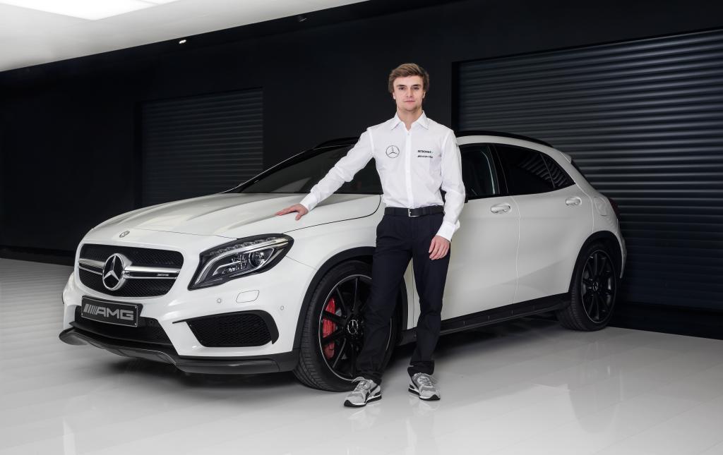 Künftiger Mercedes-Benz DTM Pilot: Lucas Auer  Bild: Daimler AG
