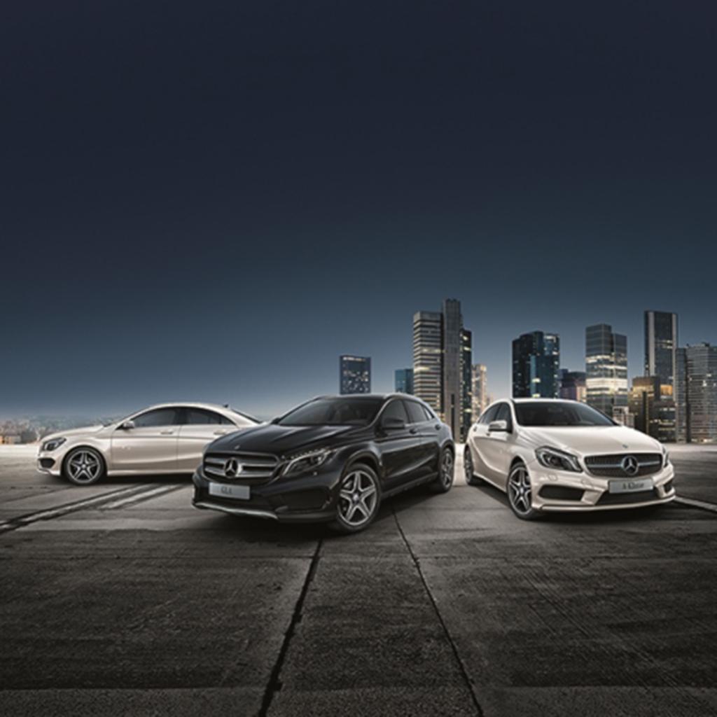 """Sondermodelle: Mercedes-Benz A-, CLA- und GLA-Klasse im """"StreetStyle"""" (Bild: Daimler AG)"""