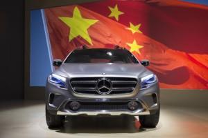 Der chinesische Markt wächst langsamer - wird aber immer wichtiger (Bild: Daimler AG)