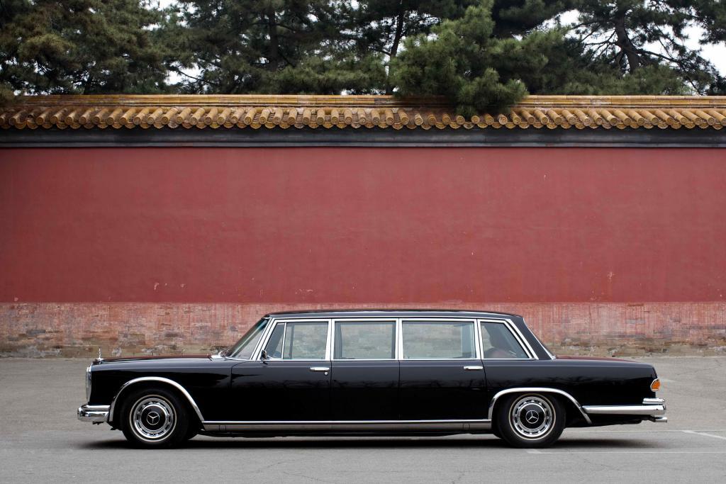 Der wohl bekannteste Staatskarosse: Mercedes-Benz 600 Pullman (Bild: Daimler AG)