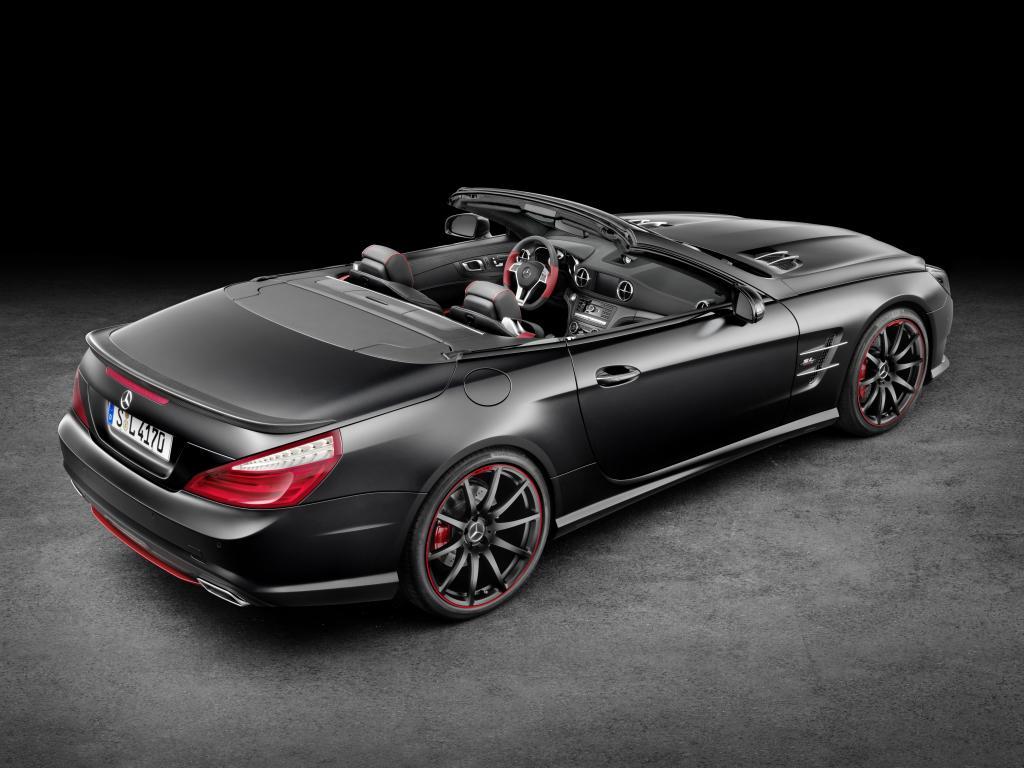 "Mercedes-Benz SL Special Edition ""Mille Miglia 417"" (Bild: Daimler AG)"