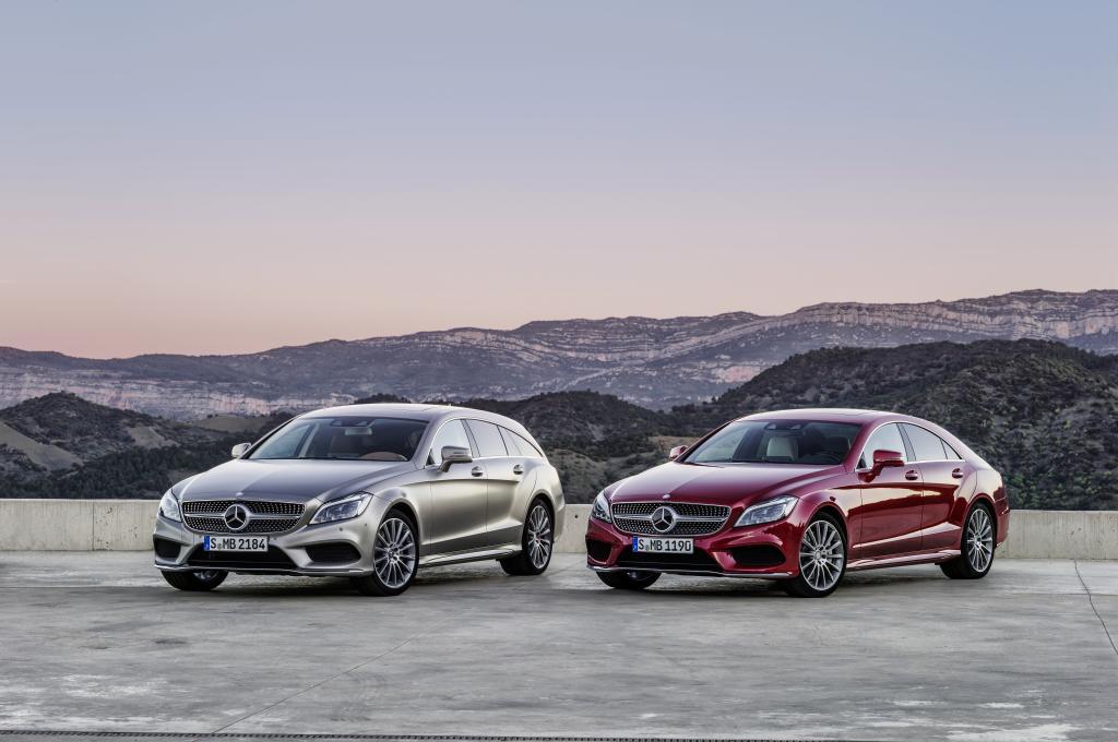 Die CLS Baureihe muss in die Werkstatt (Bild: Daimler AG)