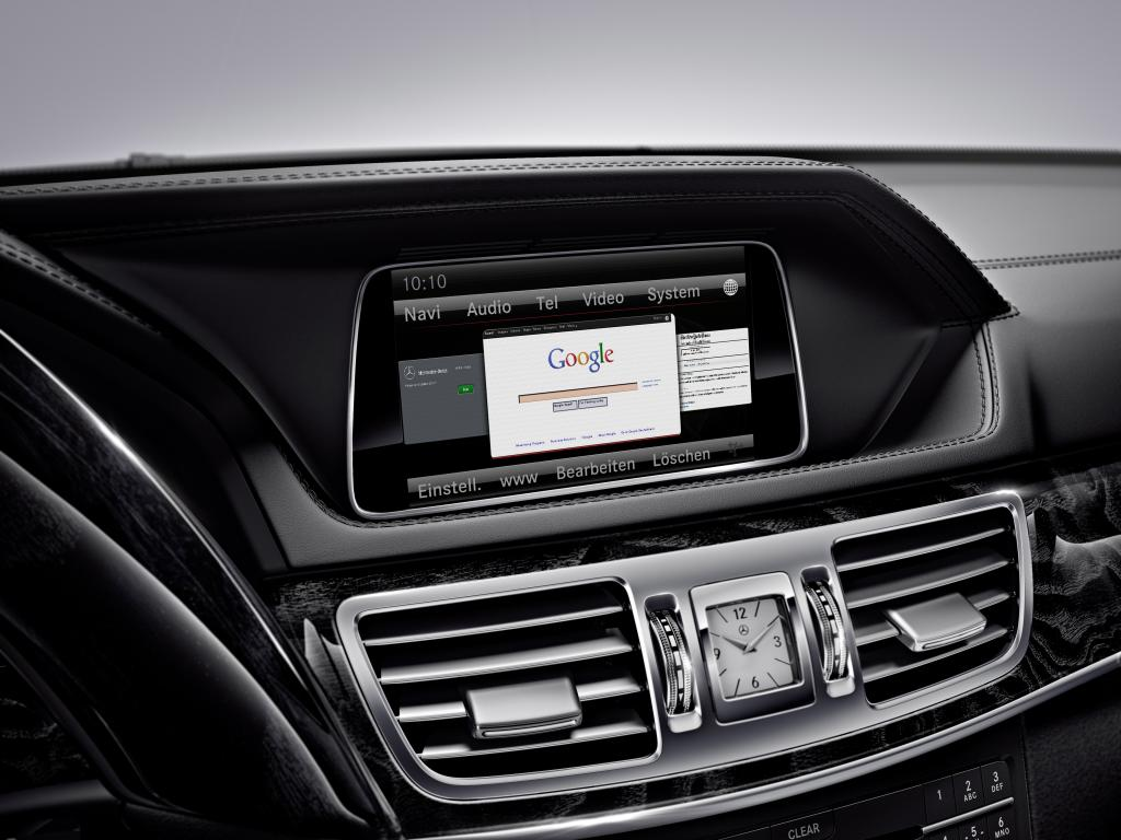 Neues Infotainmentsystem Mercedes-Benz E-Klasse 2015 (Bild: Daimler AG)