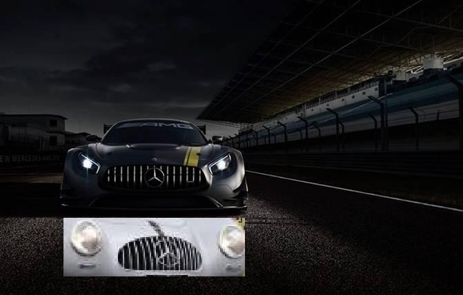 Der Stern muss hinter Gitter  (Bilder: Daimler AG)