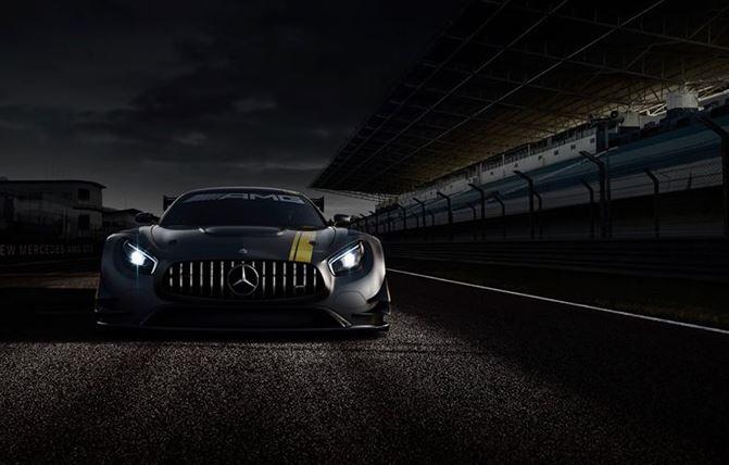 Der neue AMG GT 3 (Bild: Daimler AG)