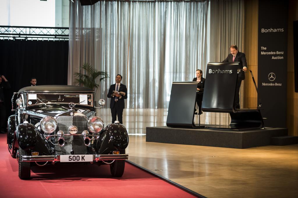 Mercedes-Benz 500 K (Bild: Daimler AG)