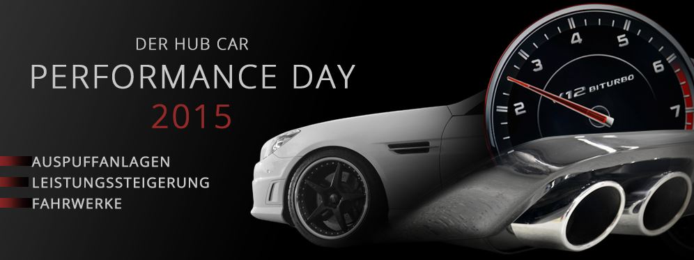 HUB CAR Performance Day 2015 (Bild: HUB CAR)
