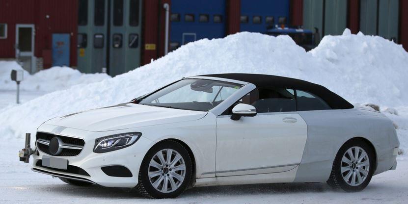 Erlkönig des S-Klasse Cabriolets (Bild: Mercedes-Fans.de)