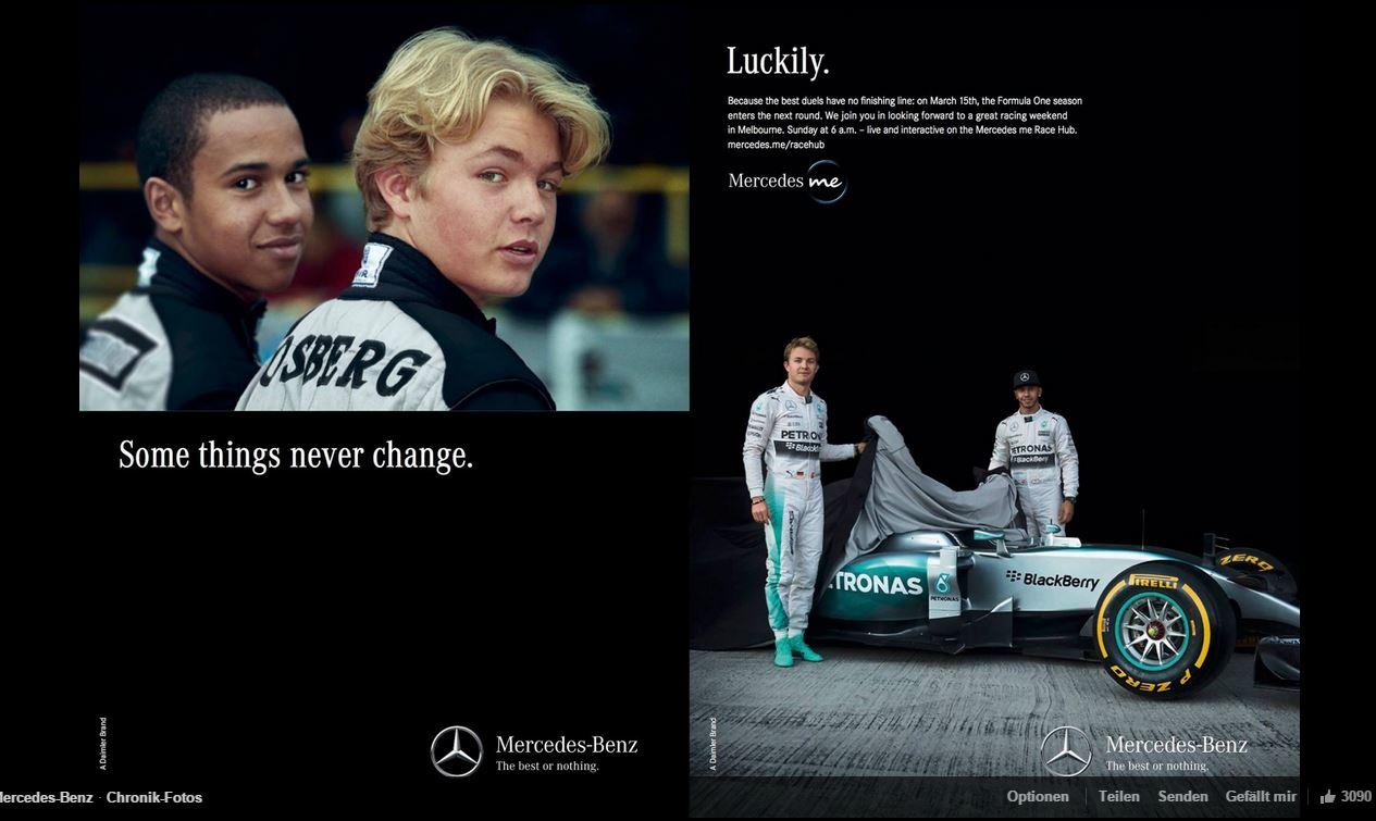 Some things never change ... (Bild: Daimler AG)