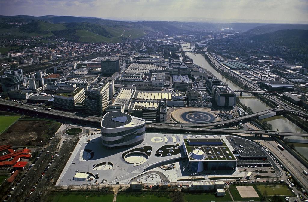 Mercedes-Benz Werk Untertürkheim (Bild: Daimler AG)