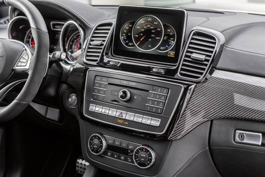 Mercedes-AMG GLE 63 S, COMAND Online mit 20,3 cm großem Media-Display (Bild: Daimler AG)
