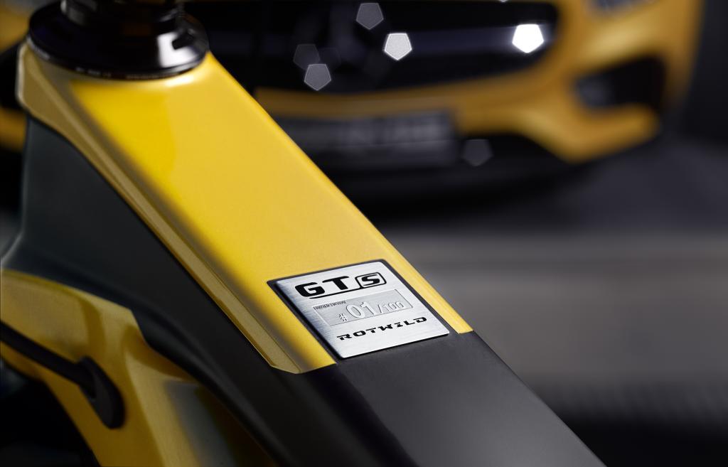 Inspiriert vom neuen Mercedes-AMG GT: Das ROTWILD GT S (Bild: Daimler AG)