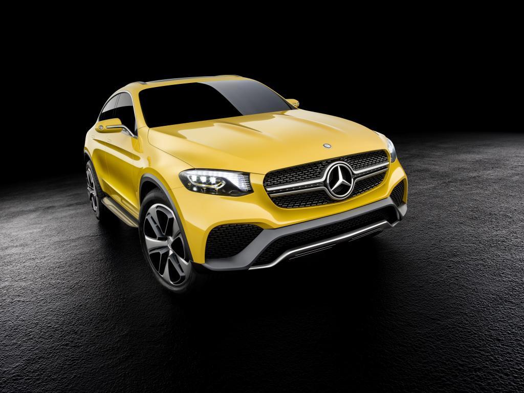Mercedes-Benz Concept GLC Coupé (Bild: Daimler AG)