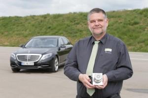 Frank-Werner Mohn, Mercedes-Benz Entwickler und Miterfinder von ESP (Bild: Daimler AG)