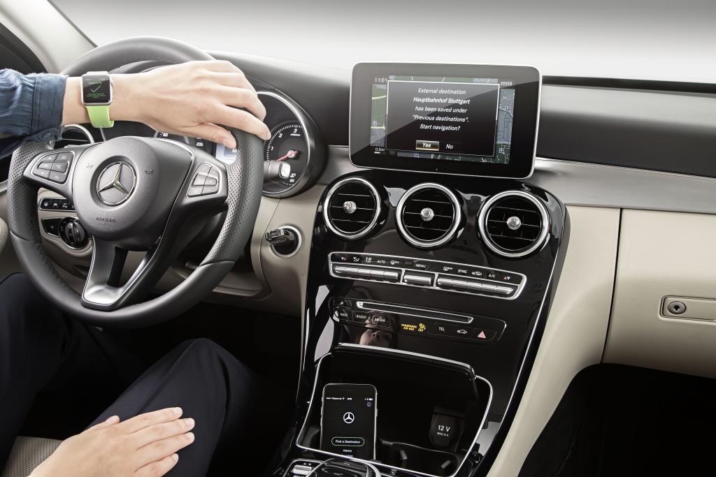 Mercedes-Benz Companion App (Bild: Daimler AG)