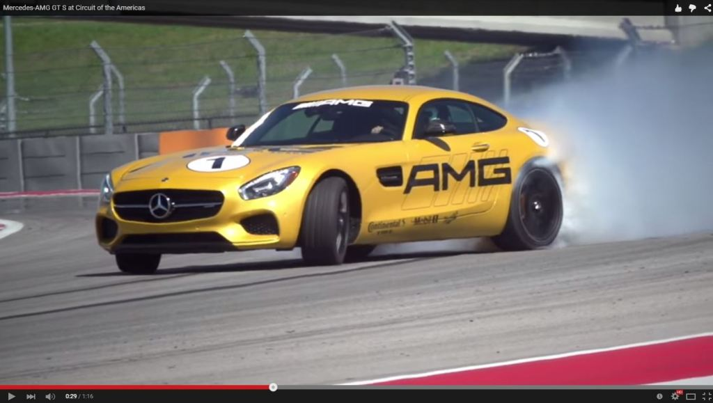 Der Mercedes-AMG GT S in Action (Bild: Daimler AG-Video)