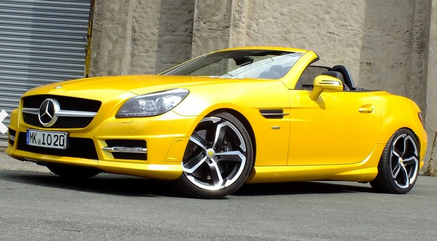 SLK 350 Edition 1 in Solar Beam (Bild: Mercedes-Fans.de)