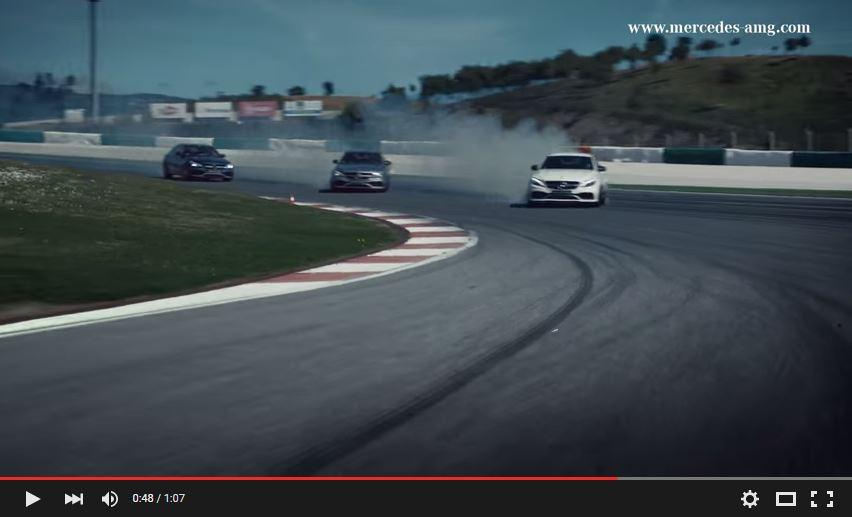 Mercedes-AMG C 63 @ Autódromo Internacional do Algarve (Bild: Video Daimler AG)