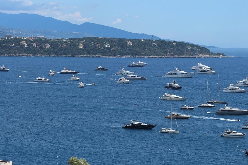 Monaco: PS-Schaulaufen nicht nur auf dem Rennkurs (Bild: privat)