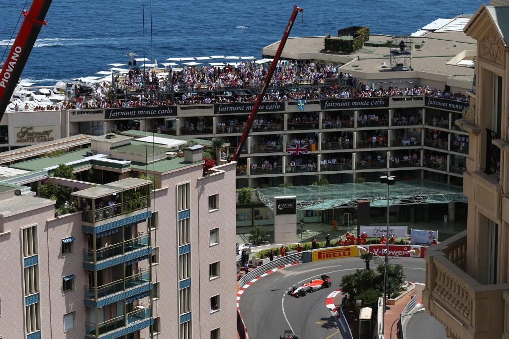 Monaco: Stabile Balkone sind Plficht im Fürstentum - zumindest, wenn man einen Blick auf die Rennstrecke hat (Bild: Privat)