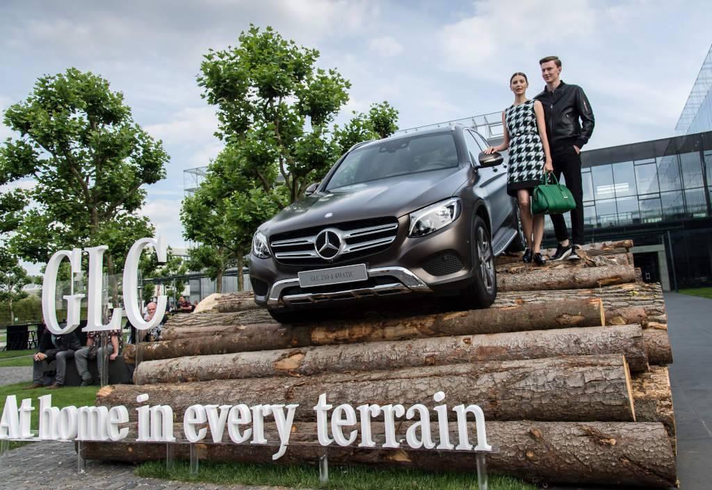 Weltpremiere: Der neue Mercedes-Benz GLC, Metzingen 2015. (Bild: Daimler AG)