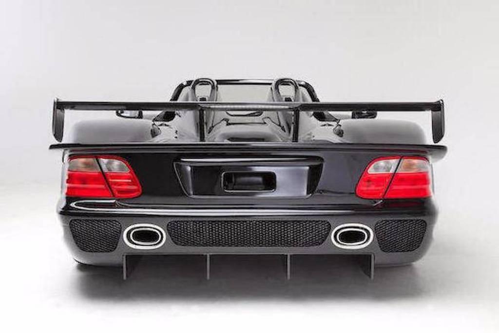 CLK DTM Roadster - der einzige in schwarz - wird versteigert (Bild: Bonahms)