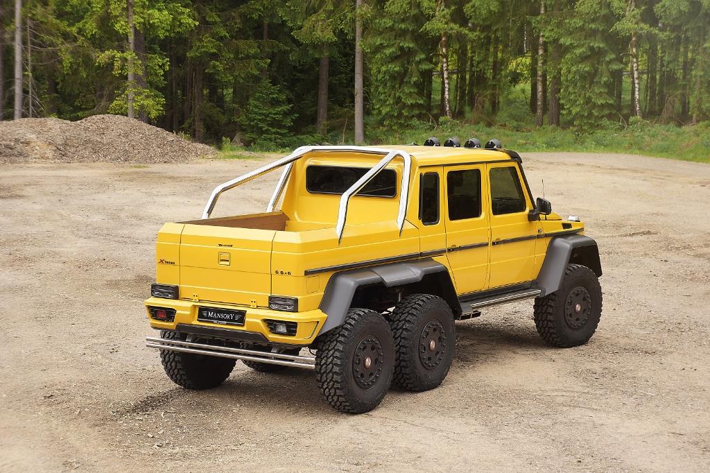 Tuning für das G-Tier: MANSORY Mercedes-Benz AMG 6x6 (Bild: MANSORY Design & Holding GmbH)