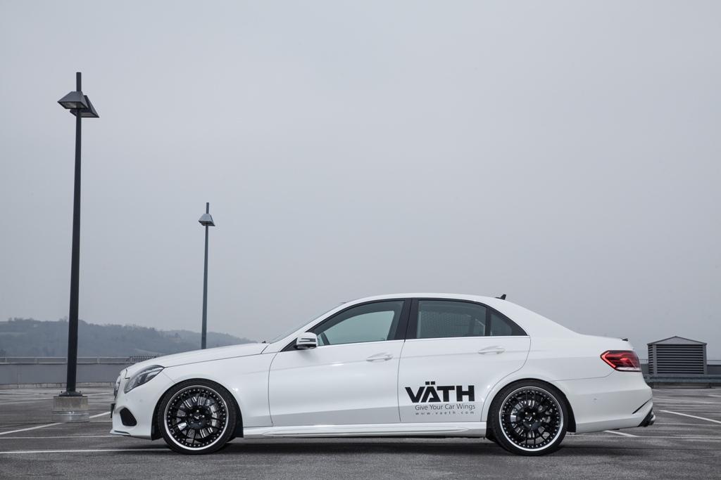 Väth V50RS E-Klasse (W212) (Bild: Jordi Miranda / VÄTH Automobiltechnik GmbH)